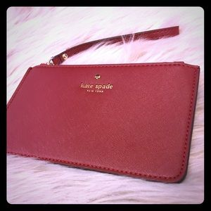 NWOT Kate Spade Wristlet ♠️ Genuine Leather